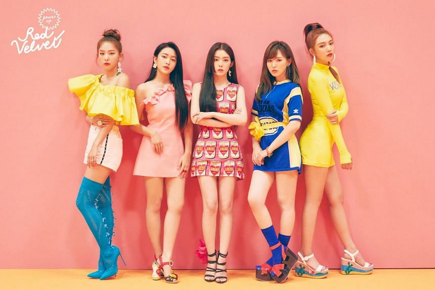 Fans of Red Velvet - composed of members Irene, Yeri, Joy, Seulgi and Wendy -  can watch the group live on Oct 20 at The Star Theatre.
