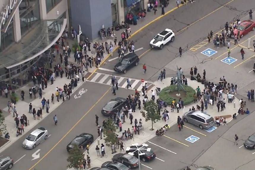 An aerial view of the scene from an online news report.