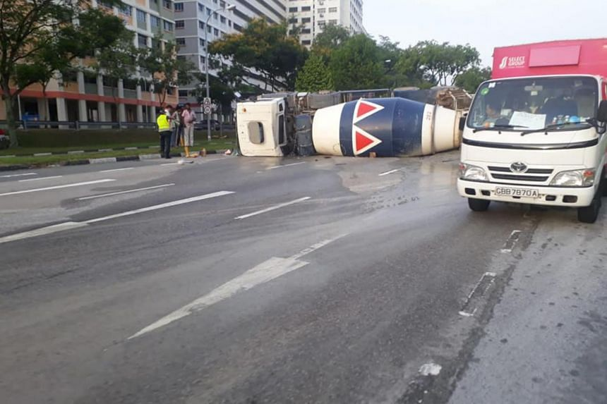 The police were alerted to the accident along Woodlands Avenue 9, towards Woodlands Avenue 10, at around 5.30am on Sept 1, 2018.