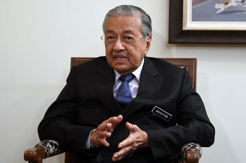"""Malaysia's PM Mahathir Mohamad said it was time to change the practice and start """"training"""" the bumiputeras to work harder to change their future."""