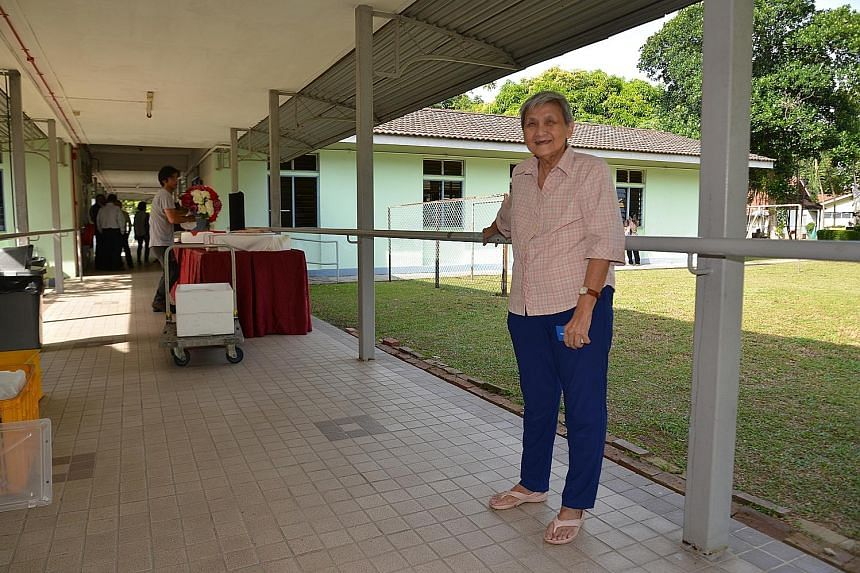 Retiree Marilyn Wee has lived at the St John's Home for Elderly Persons since 2009, and appeared in the video in May.
