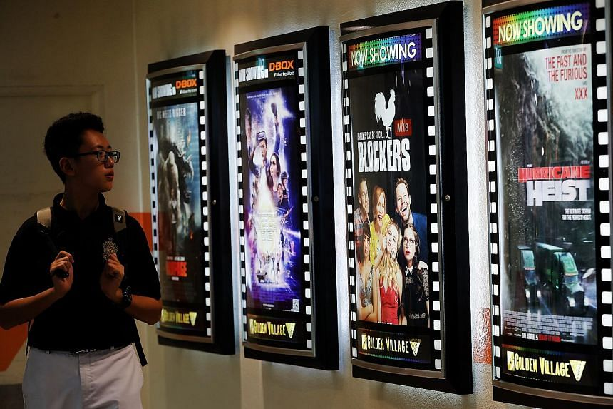 Golden Village charges a $1.50 convenience fee for each remote transaction for shows at its normal cinemas and $2.50 for shows at its Gold Class cinemas.