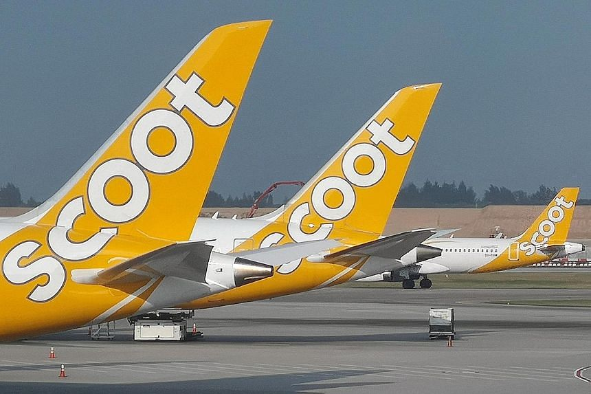 Some budget carriers, such as Scoot and AirAsia, can charge up to $32 more for a round trip.
