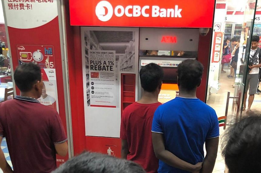 """A technical problem on Saturday night caused """"network issues"""" that affected the bank's automated teller machines, online banking system, 24-hour hotline and credit card transactions."""