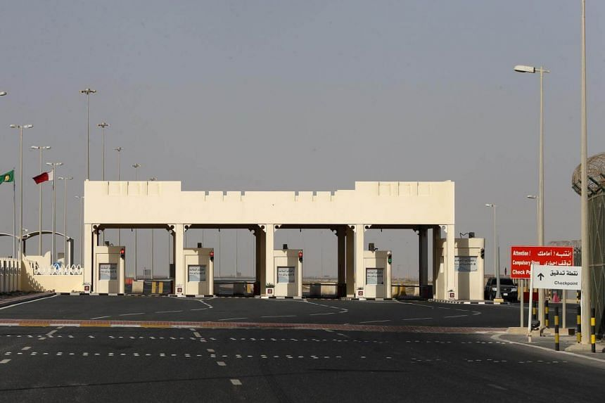 The plan, which would physically separate the Qatari peninsula from the Saudi mainland, is the latest stress point in a dispute between the two states.