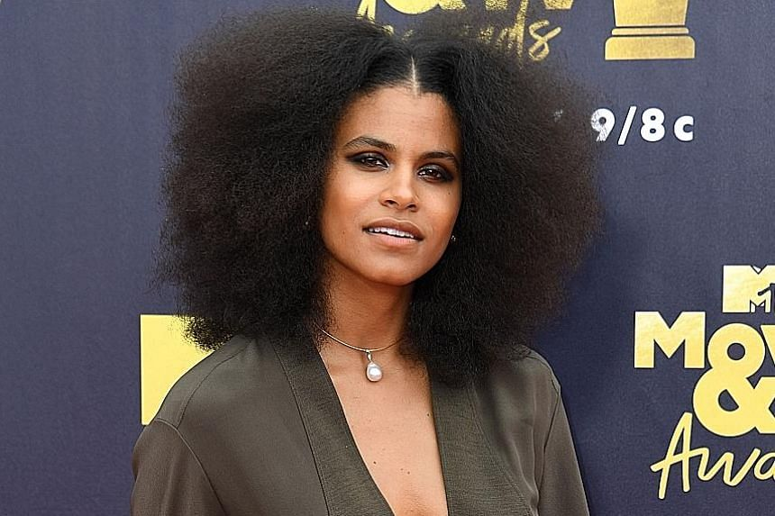Biracial actress Zazie Beetz, who plays a former teacher, Van, in the series Atlanta, is nominated for an episode called Helen, where she has a debate on choosing black or white.