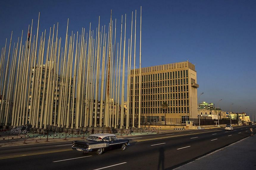 The US Embassy in Cuba. Starting in late 2016, more than three dozen US diplomats and their family members in Cuba and China suffered baffling symptoms and ailments that doctors and scientists now say may have been caused by unconventional weapons su
