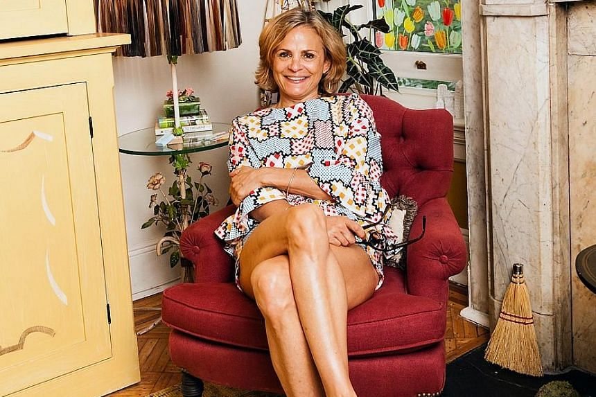 Amy Sedaris finds it fun playing different characters in her show.