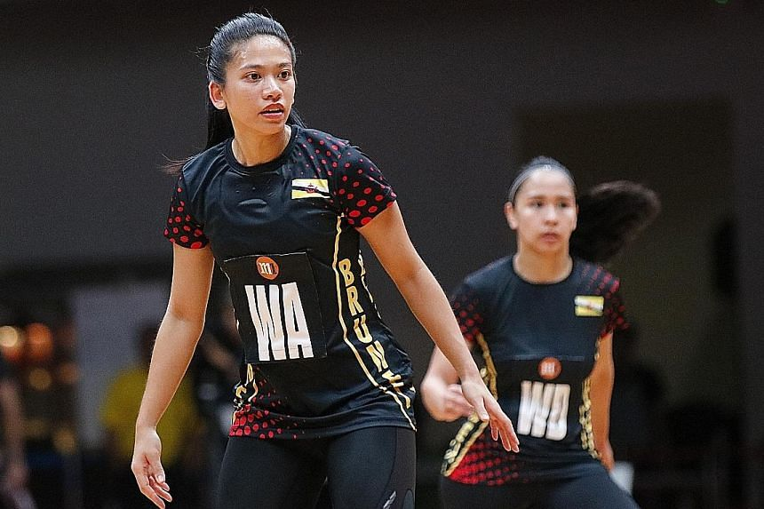 Brunei's Princess Fadzilah Lubabul Bolkiah is enjoying her time in national colours and wants to be part of netball's growth in her country.