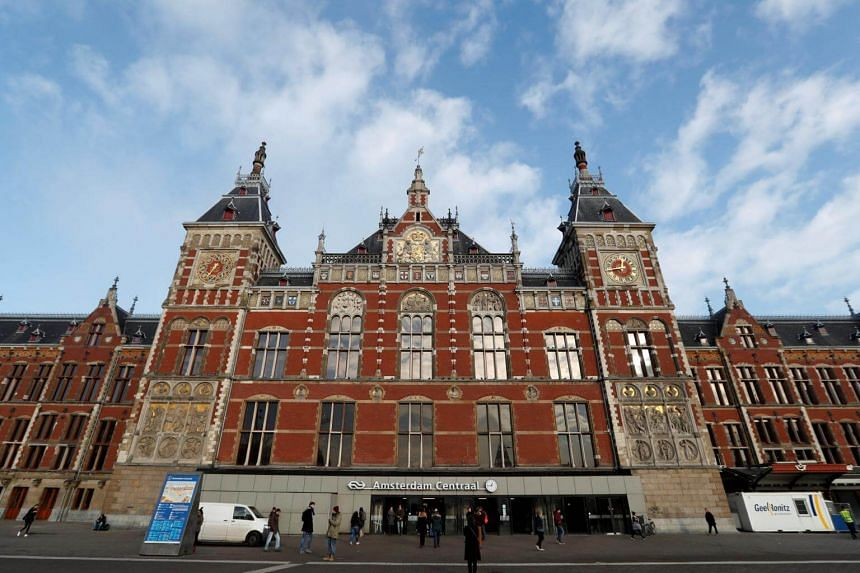 The stabbings occurred on Aug 31, 2018, at Central Station in downtown Amsterdam, when a man walked into a group of people.