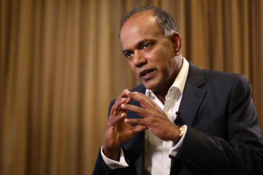 Home Affairs and Law Minister K. Shanmugam said that while it is the people's right to have political differences within Singapore, inviting a foreign politician to intervene in domestic politics is an absolute no-no.