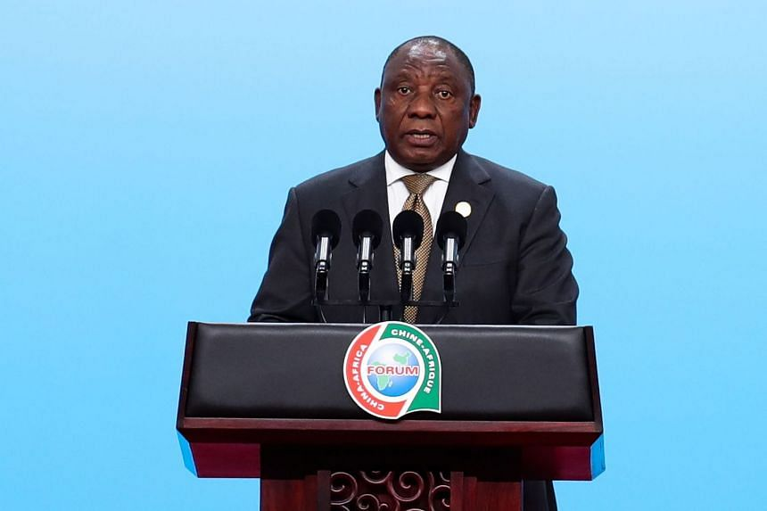 "South African President Cyril Ramaphosa said the meeting ""refutes the view that a new colonialism is taking hold in Africa, as our detractors would have us believe""."
