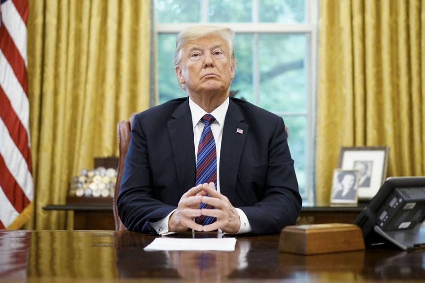 """In April 2017, President Donald Trump signed a """"Buy American and Hire American"""" executive order, directing government officials to """"rigorously enforce"""" immigration laws."""