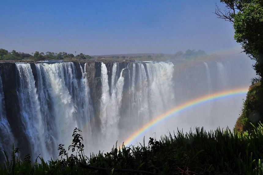 Zambia's Victoria Falls are a sight to behold. PHOTO: PIXABAY