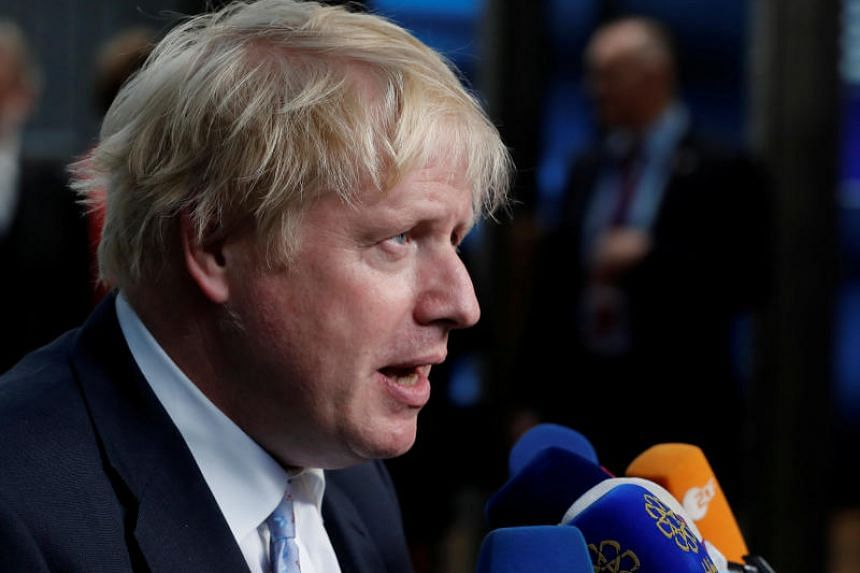 """Boris Johnson said Britain has """"gone into battle with the white flag fluttering over our leading tank""""."""