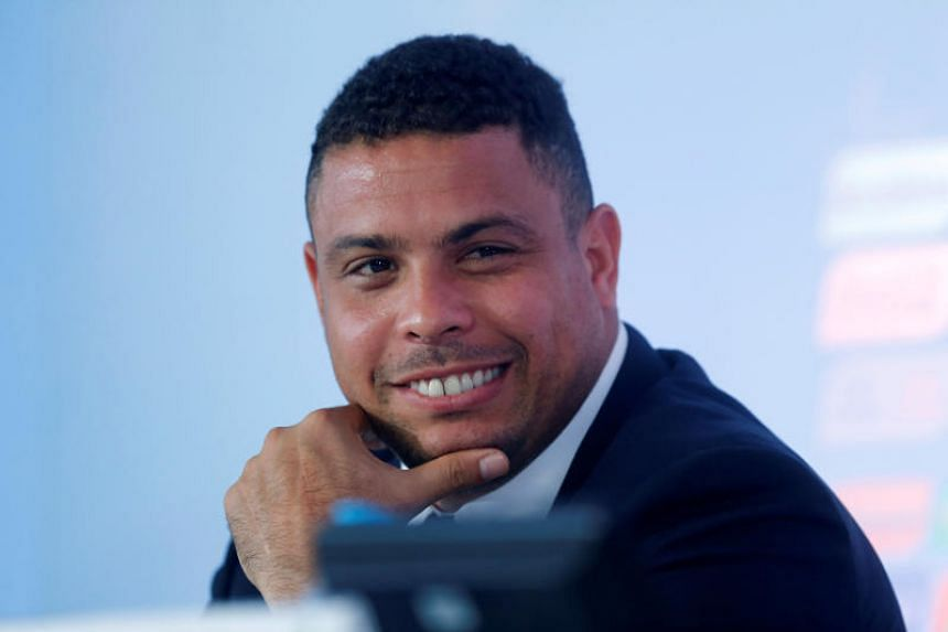 Former Brazilian soccer player Ronaldo has appealed to the Valladolid fans to help shape the club's future.