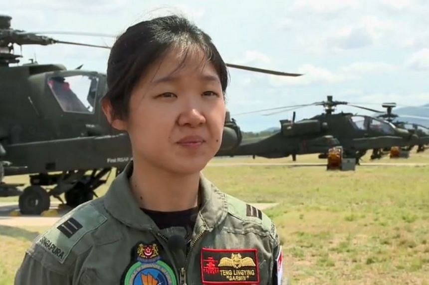 The accident in 2014 put an end to Captain Teng Ling Ying's flying career.