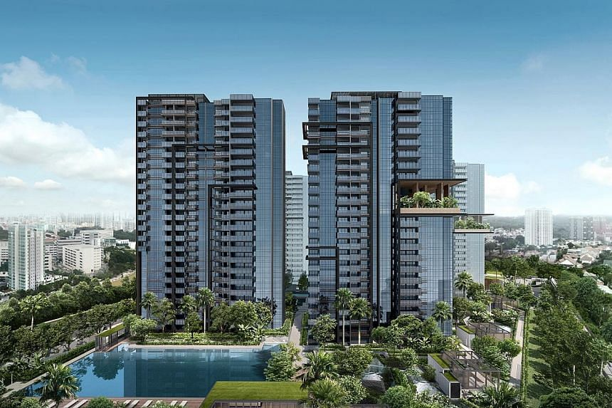 JadeScape, which is being built on the former HUDC Shunfu Ville site in Bishan, comprises a total of 1,206 units, of which 63 one-bedders will be set aside for active ageing residents. Smart technology installed in the condo includes devices in commo