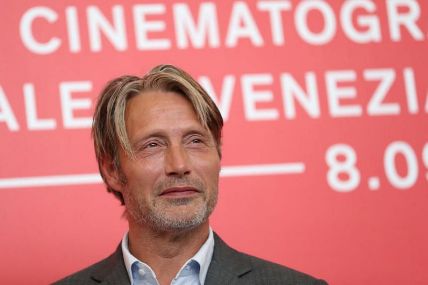 Actor Mads Mikkelsen at a photocall for the film At Eternity's Gate, which is competing in the Venezia 75 section in Venice, Italy, on Sept 3, 2018.
