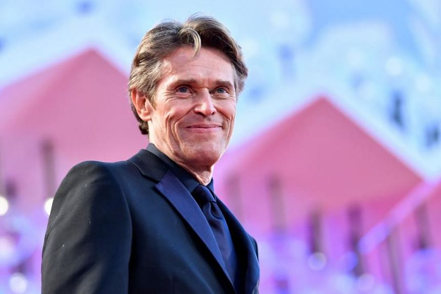 Actor Willem Dafoe arrives for the premiere of the film At Eternity's Gate on Sept 3, 2018 during the 75th Venice Film Festival at Venice Lido.  The movie stars Willem Dafoe as the artist Vincent Van Gogh.