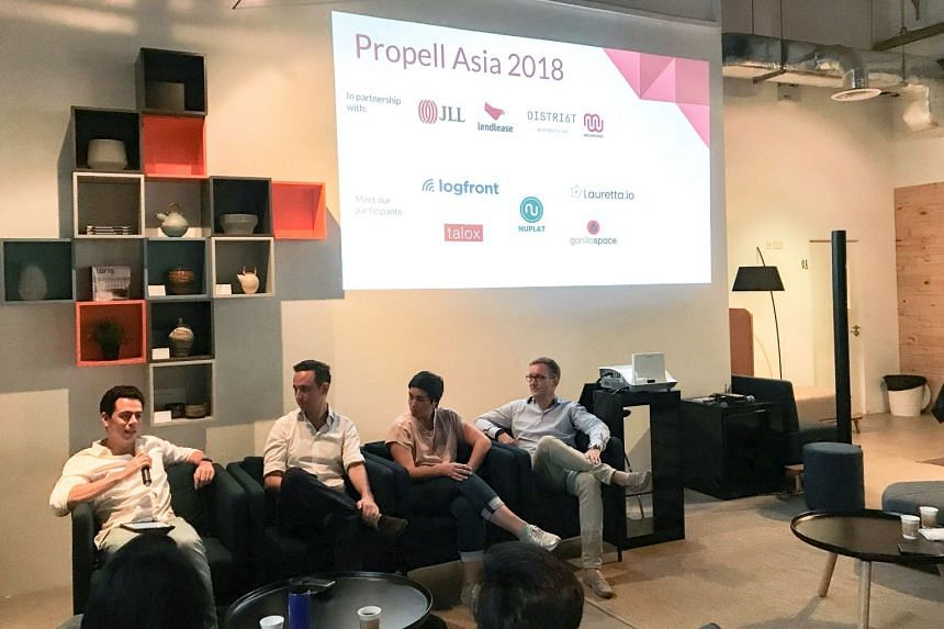 Participants at the Propell Asia accelerator programme.