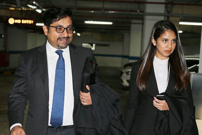 Lawyers Abraham Vergis and Asiyah Arif, who are acting for Mr Li Shengwu (above). One of the key issues that will be argued before the Court of Appeal is whether a procedural rule - which specifically allows court papers for contempt to be served out