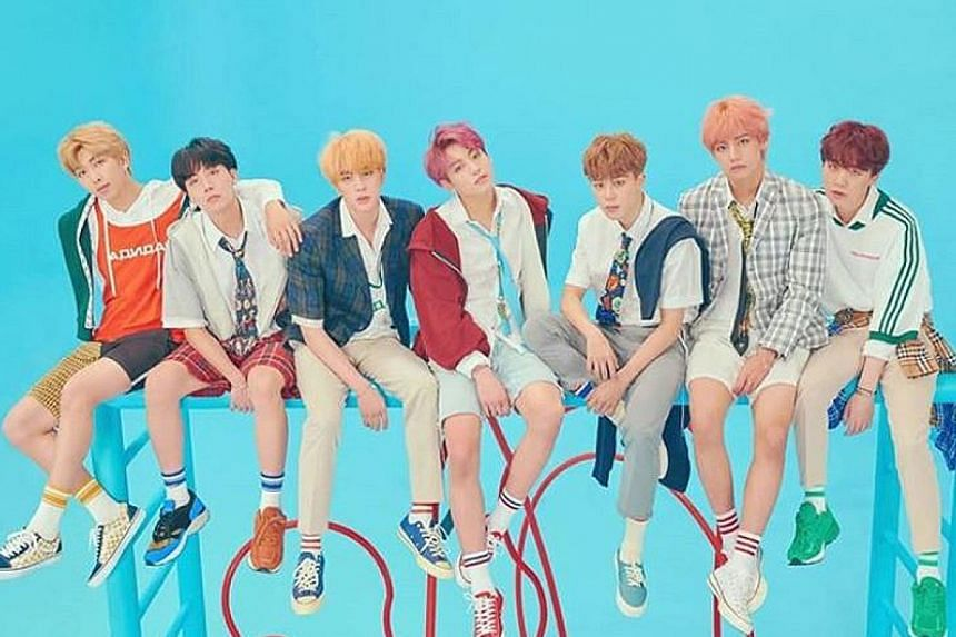 BTS hit No. 1 on the Billboard 200 albums chart with Love Yourself: Answer.