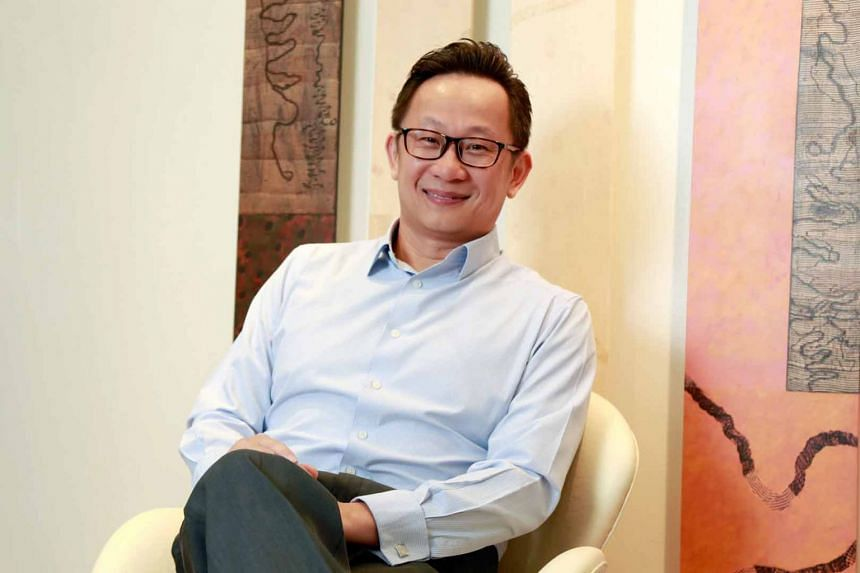 Mr Lim Shyong Piau is the chief marketing officer at Lion Global Investors.