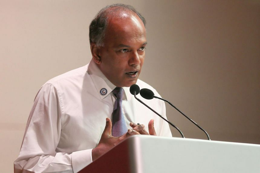 Home Affairs and Law Minister K. Shanmugam said that it is an absolute no-no to invite a foreign politician to intervene in Singapore's domestic politics.