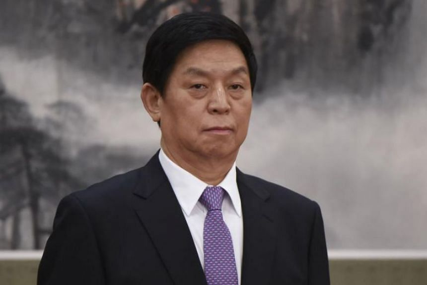 China's Parliament chief Li Zhanshu will attend celebrations of the 70th anniversary of the founding of North Korea, on Sept 9, 2018.