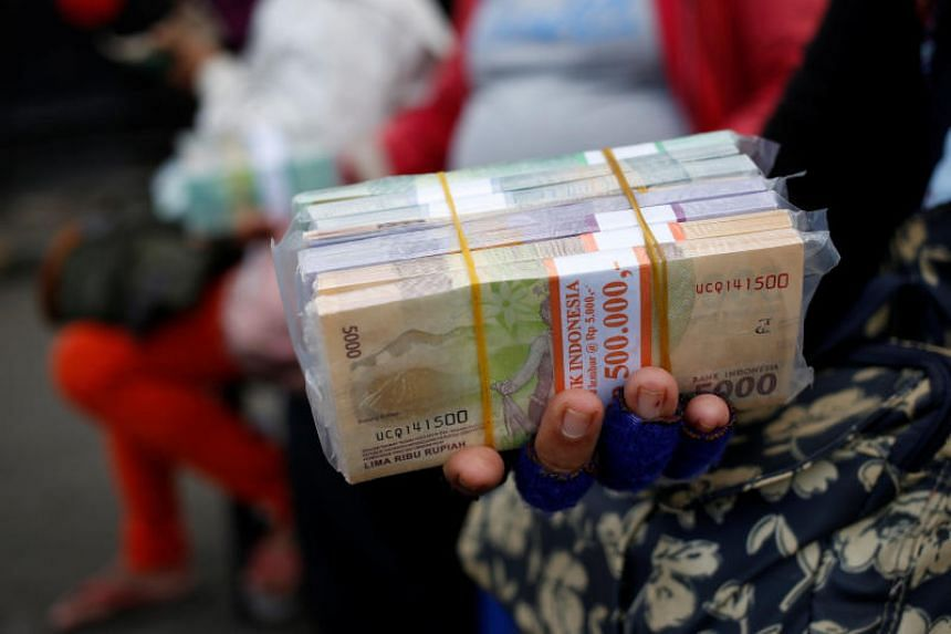 The Indonesian rupiah traded at 14,926 against the dollar, which is around the lowest level since the Asian financial crisis in 1998.