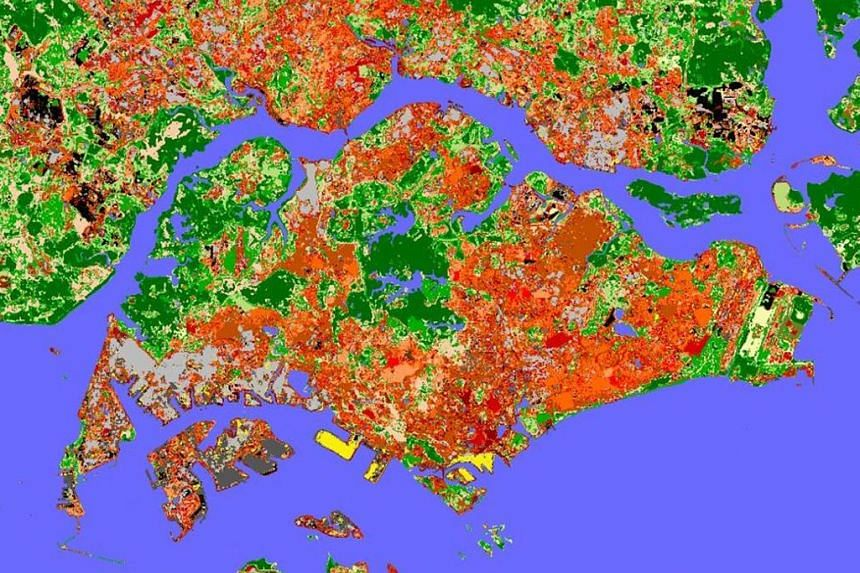Other examples of destructive extreme weather that happened this year include the massive floods in Kerala, India (left), and debilitating droughts in New South Wales, Australia (right). A map depicting Singapore's climate zones provides a research f