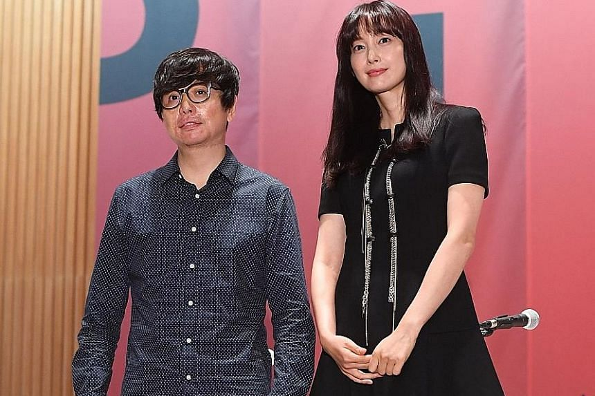 Director Jero Yun's Beautiful Days, which stars South Korean actress Lee Na-young (both left), will open the Busan International Film Festival.