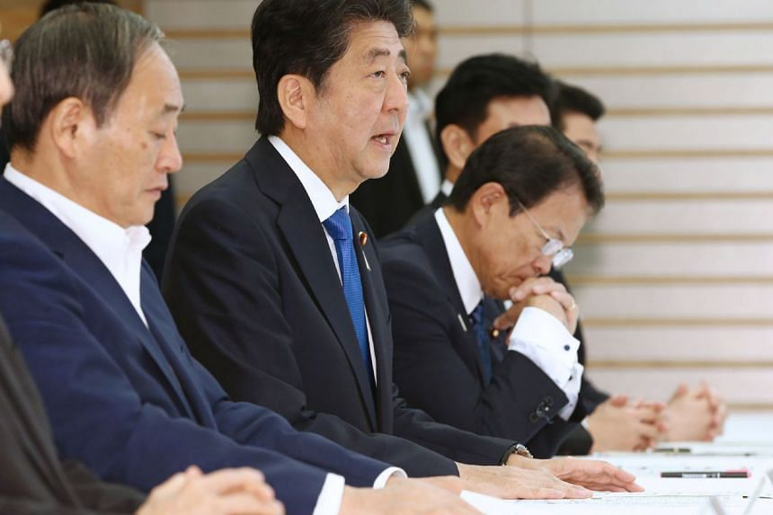 Japan's Prime Minister Shinzo Abe assured that 25,000 Self-Defence Force personnel will be activated for relief operations.