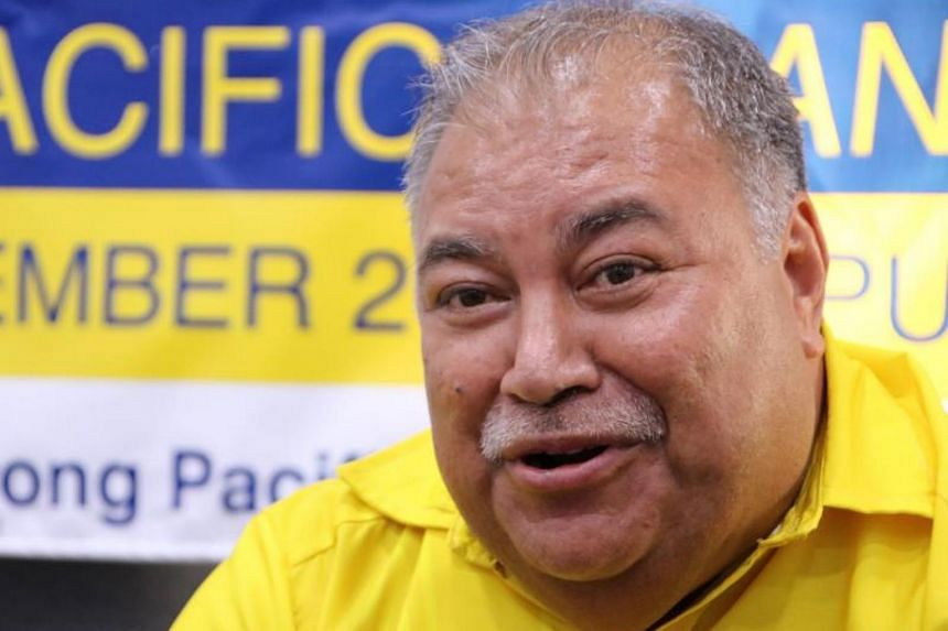 The spat occurred when Nauru's President Baron Waqa refused to give way when the head of the Chinese delegation demanded to be allowed to address the forum before the Prime Minister of Tuvalu.