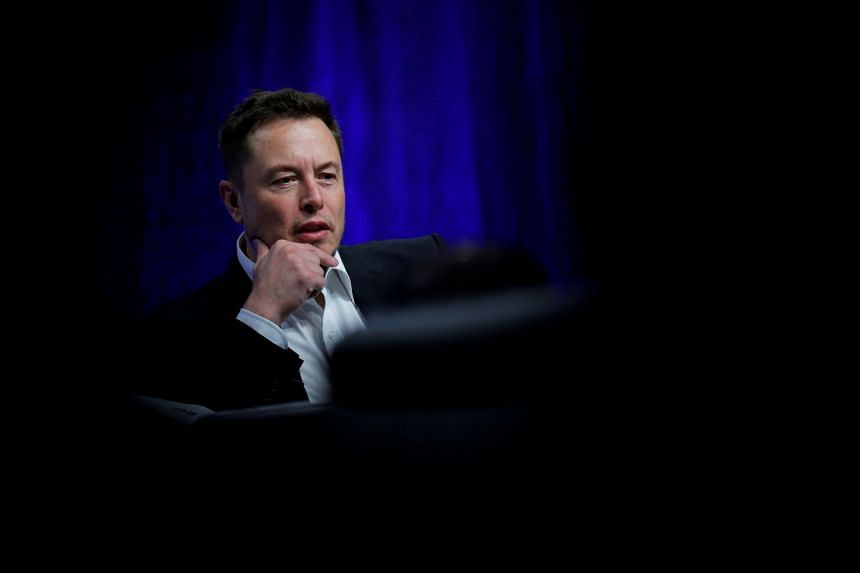 Musk (above) stunned investors on Aug 7, saying he might take Tesla private in a US$72 billion transaction.