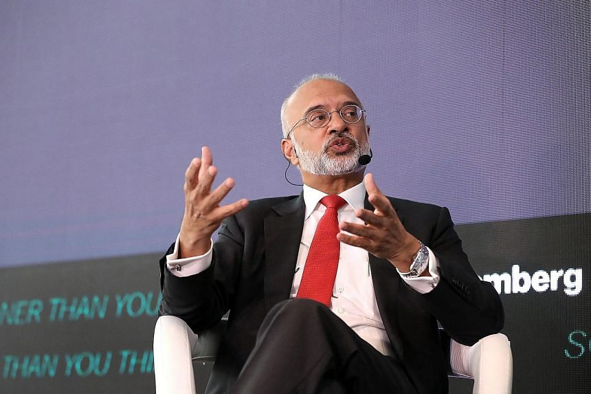 Mr Piyush Gupta, chief executive officer of DBS Group, speaking at a Bloomberg forum in Singapore yesterday, said regulators need to keep a close watch on newcomers to the financial business sector.