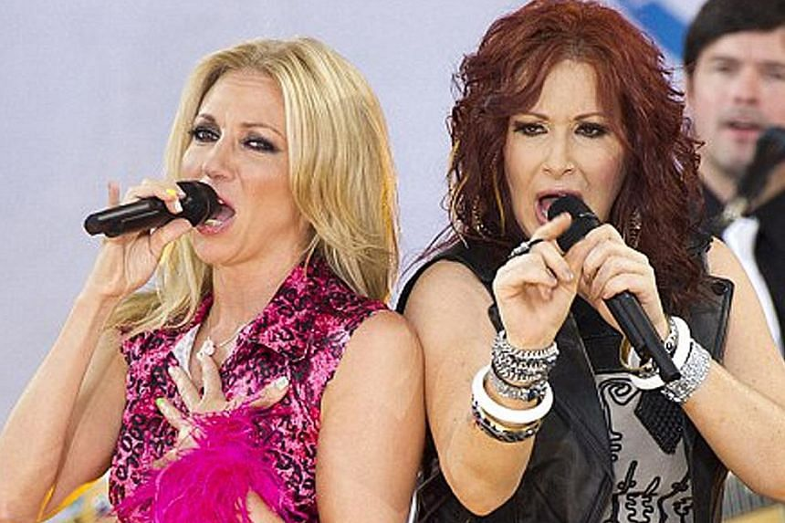 Tiffany (right) and Debbie (left) Gibson