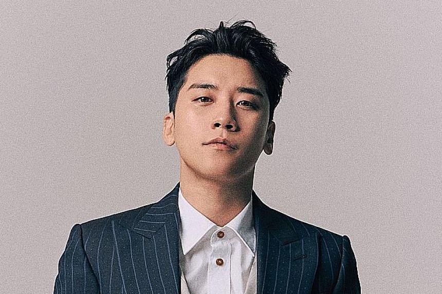 Seungri from K-pop Big Bang