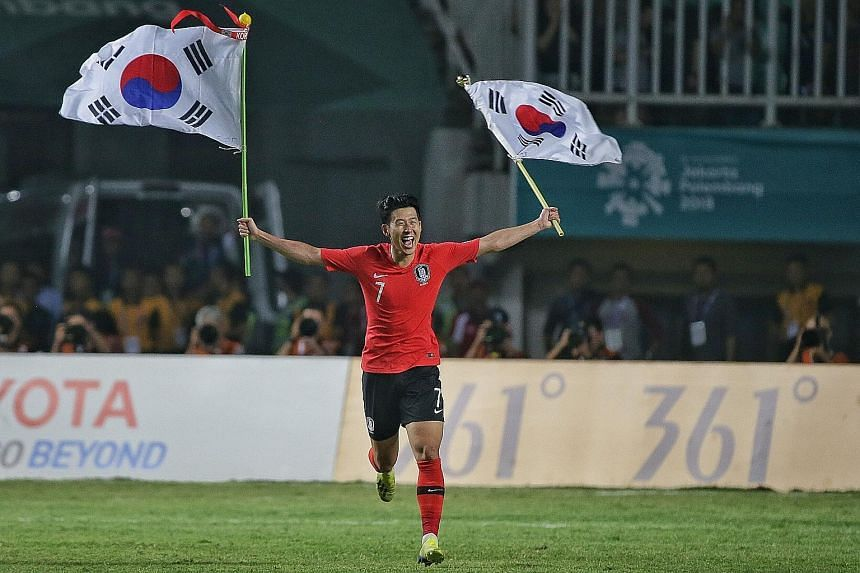 South Korean Son Heung-min, who led his country to Asian Games gold, is excited to work under new head coach Paulo Bento.