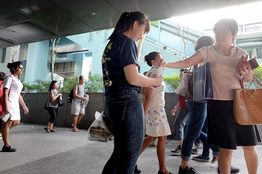 A survey of over 1,000 Singaporeans by the Commissioner of Charities showed that 86 per cent made donations in the past year, but only 6 per cent would ask questions before giving or contact the charity or fund-raiser to find out more about the cause