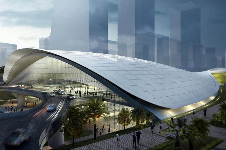 The high-speed rail line is seen by some as the catalyst to boost the economies of the areas where the stations will be located.