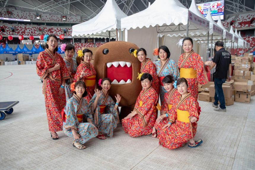 The Japan Summer Festival is being held in conjunction with the 10th edition of the Sports Hub Community Play Day.