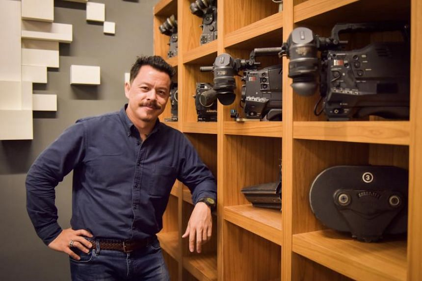 Infinite Studios' chief executive officer Mike Wiluan in Singapore on Sept 3, 2018.
