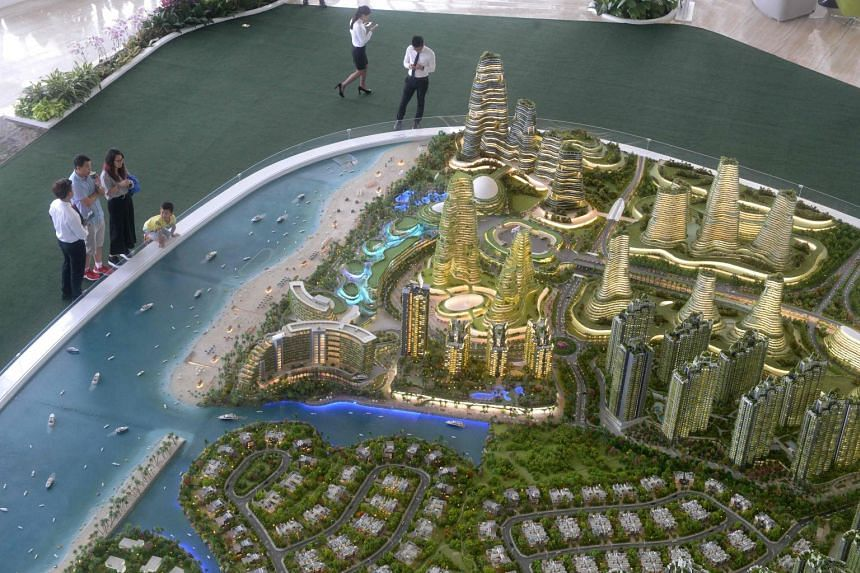 Chinese buyers account for about two-thirds of Forest City units sold so far. A fifth are from Malaysia and the rest from 22 other countries.
