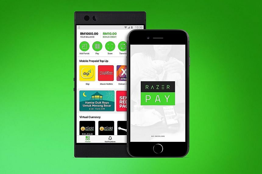 Razer had a year ago committed - in an e-payment proposal to the Government - to spearhead support for an e-payment solution for Singapore. It is seeking interested users and merchants for its e-payment platform Razer Pay.
