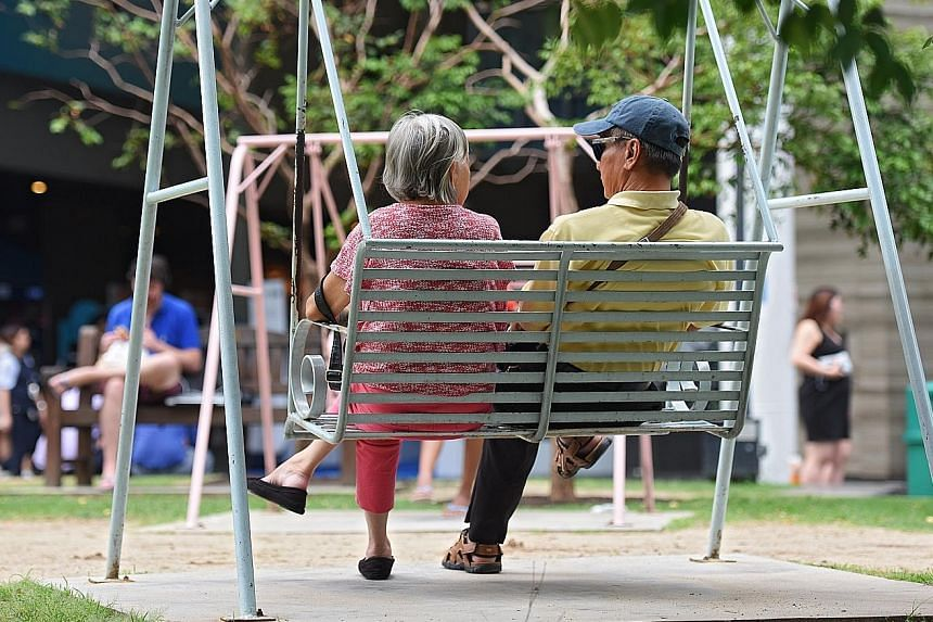 Singapore slipped from 27th to 28th spot in an annual survey on retirement security. The report said compared with 42 other countries surveyed, Singapore has a larger proportion of healthcare expenditure not covered by insurance.