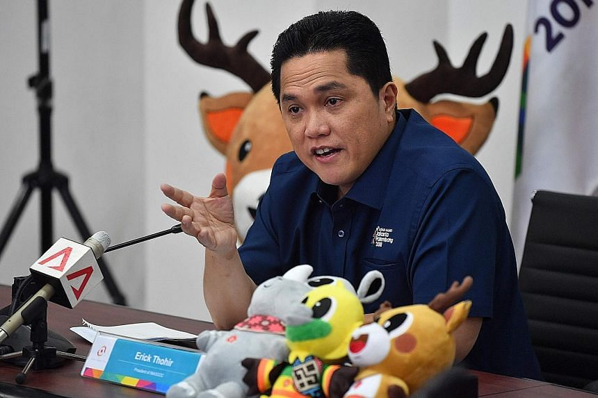 Although Mr Erick Thohir is tapped primarily for his corporate management skills and ability to engage younger voters, his ownership of Republika, a newspaper popular among conservative Muslims, could also be a plus point for President Joko Widodo.