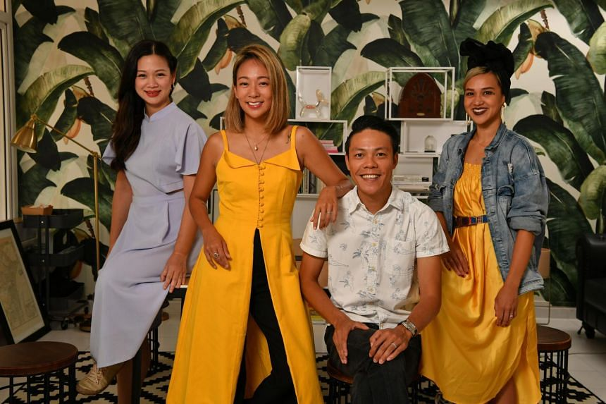(From left) Ms Tjin Lee, Ms Charmaine Seah, Mr Derek Ong, Ms Aarika Lee and Ms Dolores Au (not in picture) started the Life Beyond Grades movement to get parents to look beyond their children's grades.