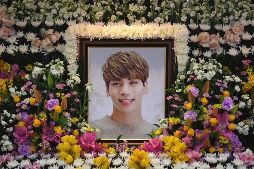 Kim Jong-hyun died after he committed suicide in December 2017.